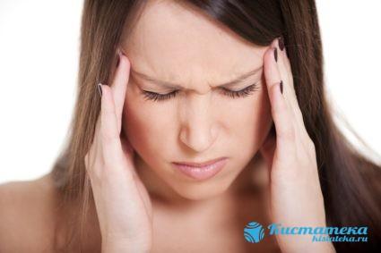 Если образование не нормального размера, у пациента могут проявляться головные боли