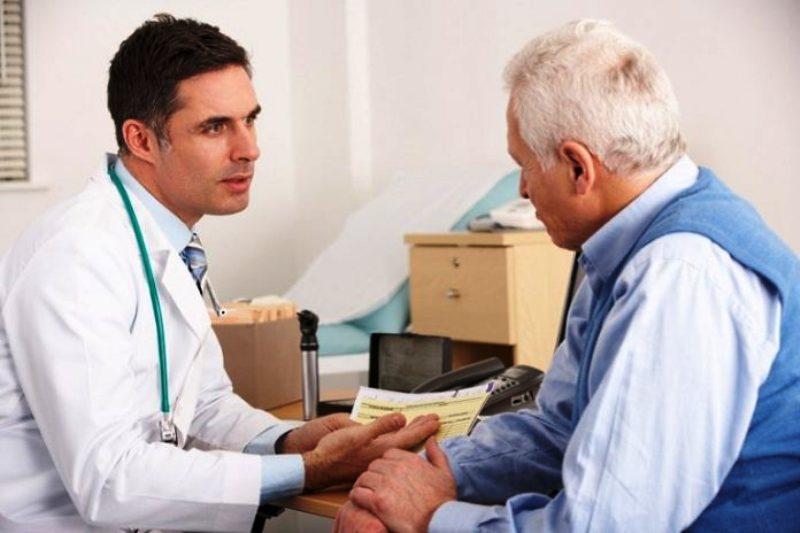 Разговор пациента с доктором