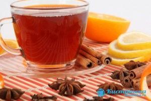 Чай с имбирем и корицей поможет снять воспаление