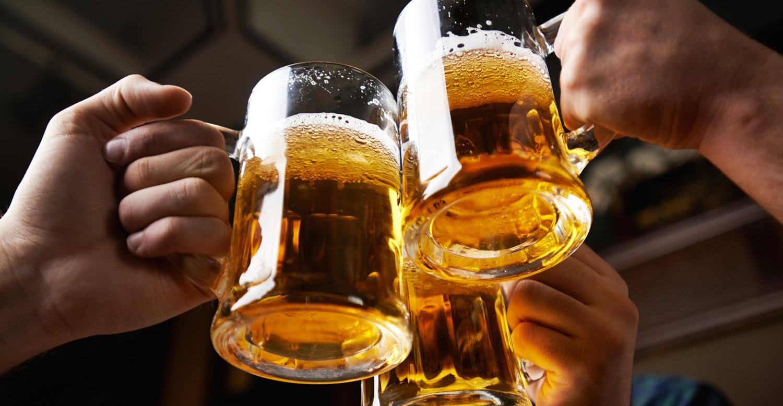 Полезно только настоящее натуральное пиво