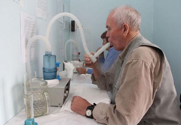 Медицинский кабинет для ингаляций