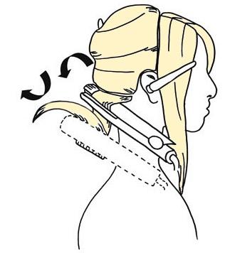 как накрутить волосы утюжком ребенку